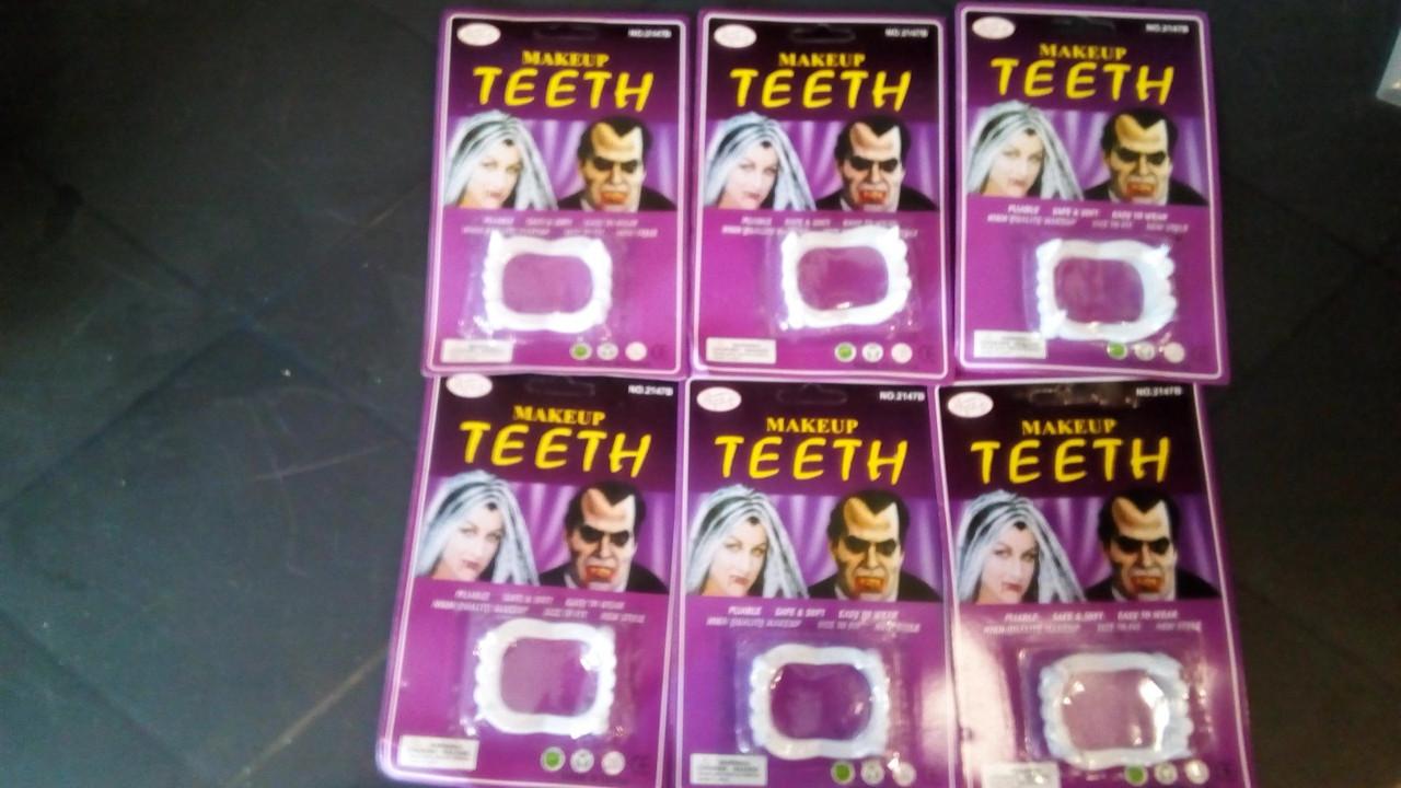 Зубы вампира без крови