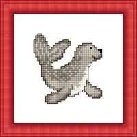 Набір для вишивки хрестом Російський фаворит М-009 «Тюлень»