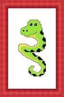 Набір для вишивки хрестом Російський фаворит М-013 «Змійка»