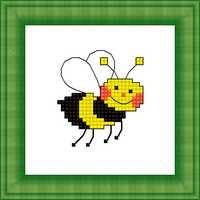 Набор для вышивки крестом Русский фаворит М-017 «Пчелка»