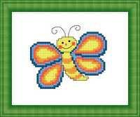 Набор для вышивки крестом Русский фаворит М-022 «Бабочка»