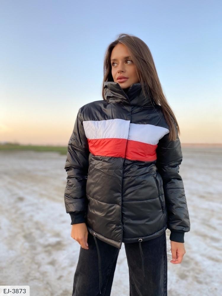 Женская куртка. Цвета на фото. Размер: 42-48. Ткань синтепон 200.
