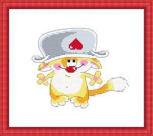 Набор для вышивки крестом Русский фаворит ШМ-002 «А потом суп с котом!»