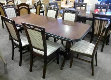 Стол обеденный раскладной  на двух ножках  Гранд  Fusion Furniture, цвет  орех, фото 2