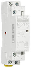 Модульний контактор MK-N 2P 16A 2NO 220V, фото 3