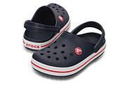 Сабо (кроксы) Crocs Crocband Kids Navy ( Темно-синий ) C8 24-25, фото 2