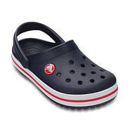 Сабо (кроксы) Crocs Crocband Kids Navy ( Темно-синий ) C11 28-29, фото 2