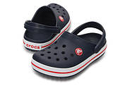 Сабо (кроксы) Crocs Crocband Kids Navy ( Темно-синий ) C11 28-29, фото 5