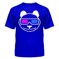 Майка Панда в 3D очках