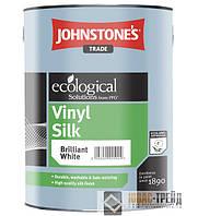 Johnstones Vinil Silk (Джонстоун Тм Винил Силк)Водоэмульсионная виниловая полуматовая краска 10 л