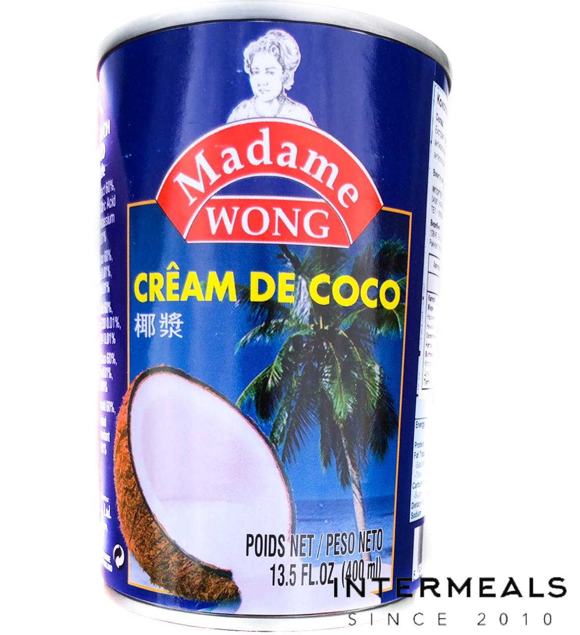 Кокосовое молоко 22% ТМ Madame WONG 400мл
