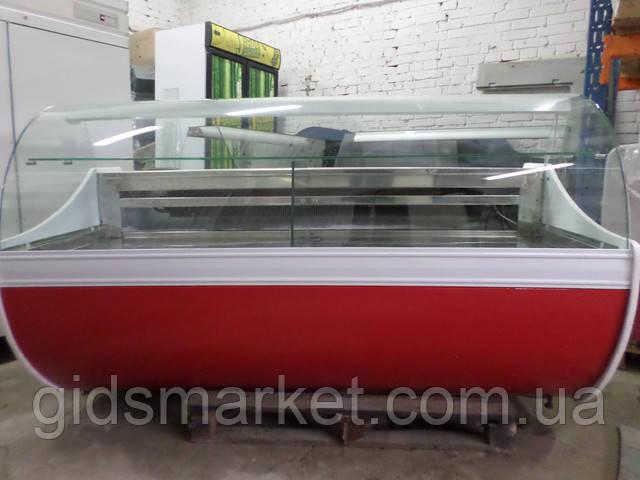 Холодильные витрины б/у, выбор холодильных гастрономических и кондитерских витрин хорошего качества.