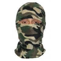 Шапка маска балаклава флисовая, подшлемник, цвет камуфляж