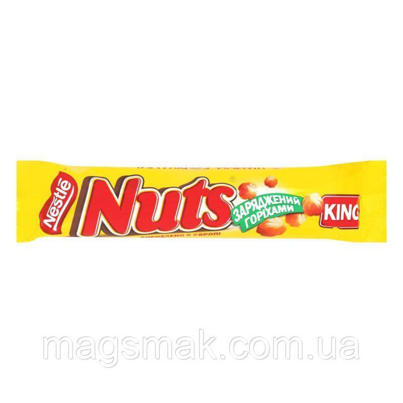 Шоколадный батончик Nuts King 60 г