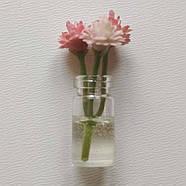 Кукольные цветы в прозрачных баночках, фото 2