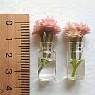 Кукольные цветы в прозрачных баночках, фото 5