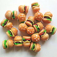 "Кукольная еда ""Гамбургер"" (бургер), фото 3"