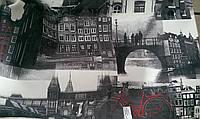 Ткань мебельная термопечать CANVAS AMSTERDAM с подборкой, фото 1