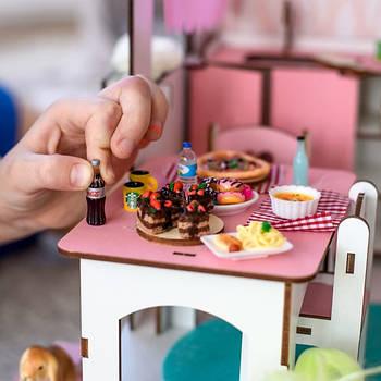 Кукольная еда и посуда
