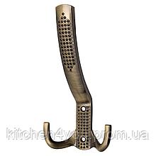 Гачок великий H5605 3D ефект антична бронза