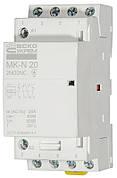 Модульний контактор MK-N 4P 20A 2NO+2NC 220V
