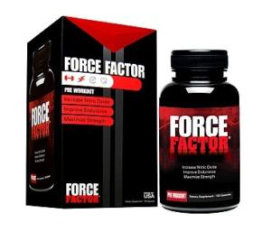 Force Factor (Форс Фактор) - капсулы для роста мышечной массы