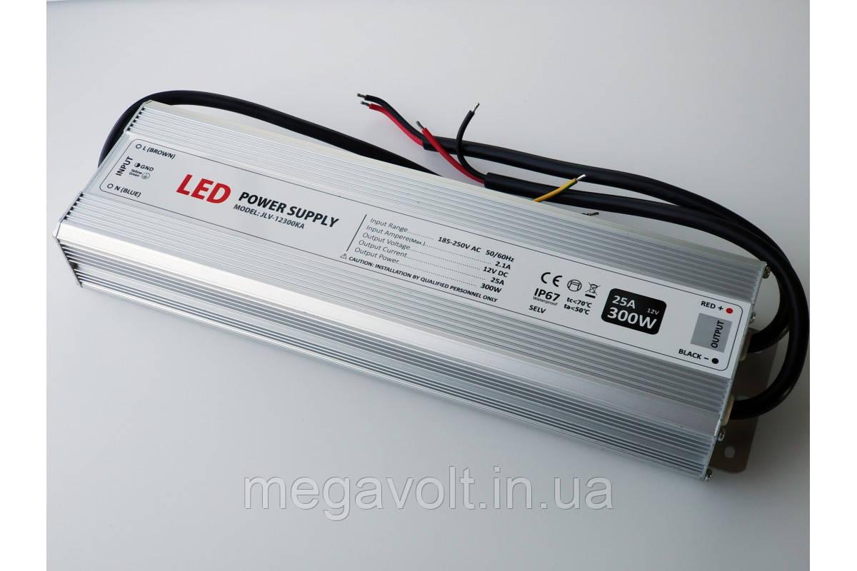 Блок питания 300W 12V герметичный premium Jinbo