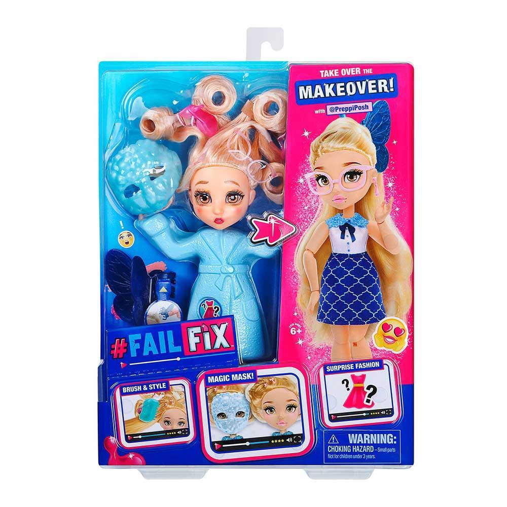 Набор с куклой Failfix Total Makeover Школьница