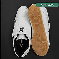Оригинальные степки обувь для занятий тхэквондо детские взрослые HEALTH FEET Черно-белый (HEALTH ст2) 32