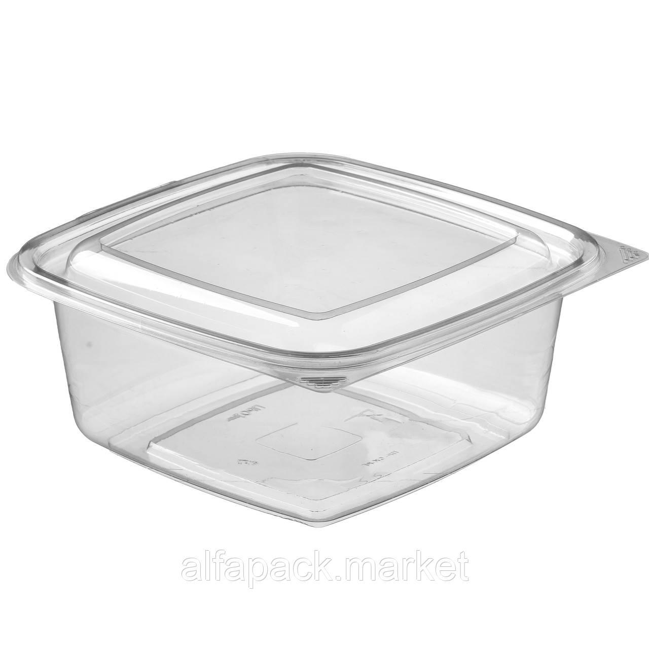ПР-СК-РГ-1000 Упаковка для салатов 1000 мл, 168*168*76 (200 шт в упаковке) 010200041