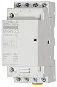 Модульний контактор MK-N 4P 25A 2NO+2NC 220V