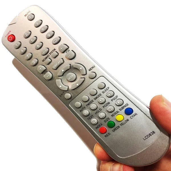 Пульт для телевизора Nokasonic LCD 838-2