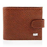 Мужской кошелек портмоне кожаный Desisan t087/3 коричневый