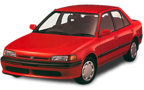 Авточехлы для Mazda (Мазда) 323 (BG) 1989-1994