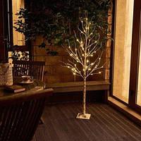 Декоративна світлодіодна Береза 180см , фото 1