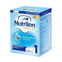 Суміш молочна Nutrilon 1 Premium+, 0+, 1000г