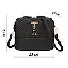 Компактная женская сумка Бэмби + Подарок женский кошелек / Сумка Бемби (23x20x10 см), фото 6