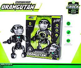 Блютуз колонка танцующий Орангутанг обезьяна с микрофоном