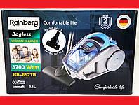 Пылесос Rainberg RB-652TB 3700W 2,5L Blue + ТУРБОЩЕТКА, фото 1