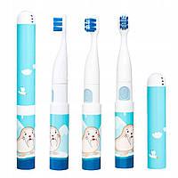 Детская электрическая зубная щетка VITAMMY Smile морской котик