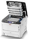 Цветной светодиодный принтер OKI C612N для дома и офиса, фото 4