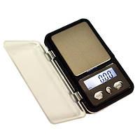 Весы ювелирные 6210PA/МН-333/Mini2 (100/200г)/ Портативні карманні електронні ювелірні ваги