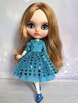 Сукня для ляльки Блайз, Пуллип, Айсі з тваринами. Одяг для Pullip, ICY і Blythe