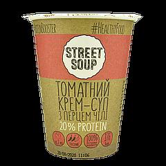 Крем-Суп STREET SOUP томатный с острым перцем 50г стакан, 30шт/ящ