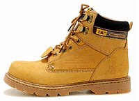 Мужские ботинки Сaterpillar рыжие