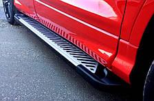 Подножки на Opel Antara (с 2006---) Опель Антара