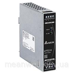 DRL-24V120W1EN Блок питания на Din-рейку Delta Electronics 120Вт, 24В, 5A / аналог NDR-120-24 Mean well