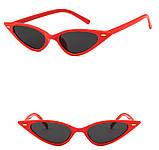 Ультрамодные солнцезащитные очки лисички, фото 2