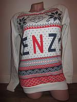 Женский свитшот с принтом KENZO кен-098, фото 1