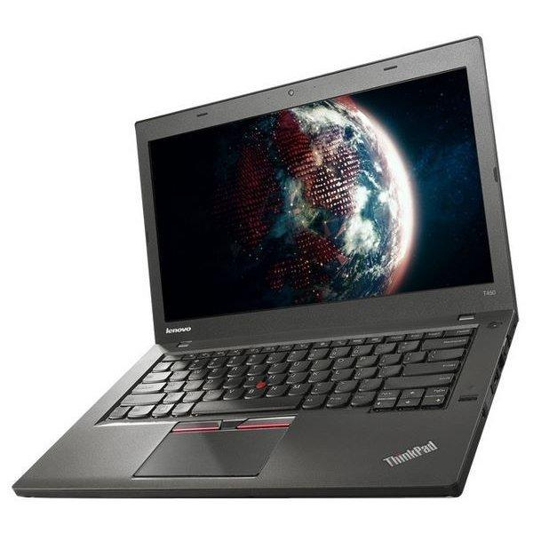 Ноутбук Lenovo ThinkPad T450-Intel Core i5-5300U-2,30GHz-4Gb-DDR3-180Gb-SSD-W14-Web-батерея -(B)- Б/У